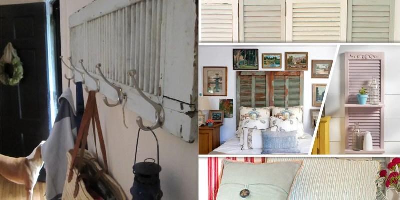 45 interesting shutter repurposing projects 2