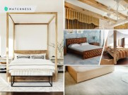 Extravagant yet elegant modern wooden bed design to make you feel back-to-nature 2