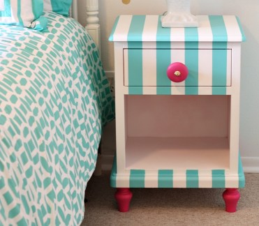 Tutorial-for-creatively-painting-childrens-furniture.-nightstand-painted-with-velvet-finishes-paint-the-creativity-exchange