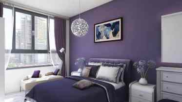 Bright-color-bedroom-paint-ideas-interior.broodings