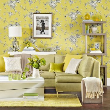 Living-room-wallpaper-ideas-yellow-floral-920x920-1