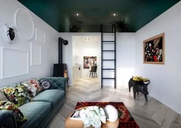 Mezzanine-premise-paint-second-level-different-color