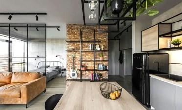 Modern-studio-apartment-interior-design-ideas-hang-things