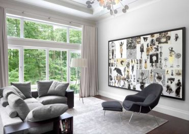 1-cool-interior-decoration-ideas-glamorous-gray-chair-lounge-and-black-modern-sofa-design-with-wooden-book-rack-in-remarkable-white-and-black-interior-design-900x638-1