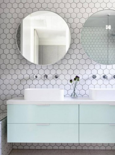 2-05-white-hex-tiles-with-black-grout-contrast-are-done-fresh-and-bold-with-pastel-mint-cabinets