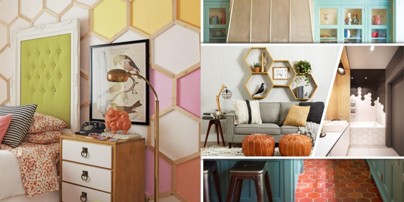 50 possibilities to apply honeycomb pattern to your home2