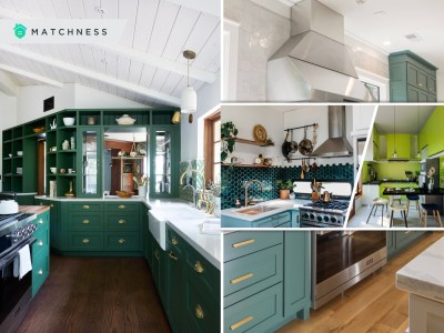 Green kitchen design ideas to enliven your cooking space2