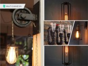 Industrial lighting fixture ideas that will add a timeless look to any room decoration2