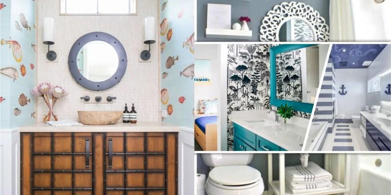 Inspiring beach bathroom decor ideas to feel summer inside 2