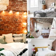 Marvelous bedroom with bricks ideas that show natural beauty and easy warmth fi