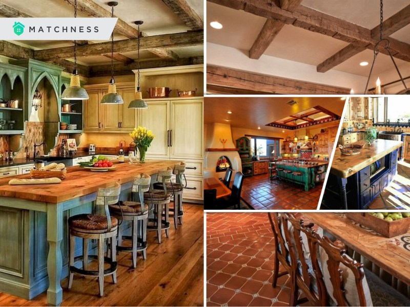 Marvelous spanish style kitchen to inspire you for the next remodel2