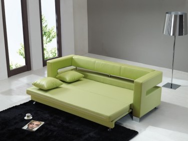 Latest-sofa-beds-ideas-living-room-furniture-green-leather-sofa-bed