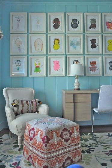 10-same-size-frames-with-kids-pictures
