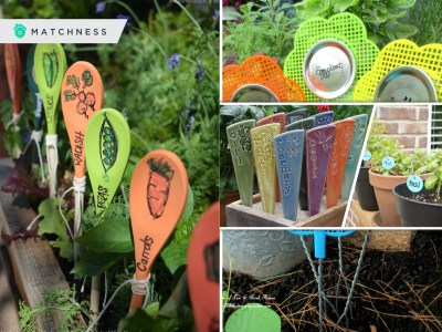 20 kinds of garden marker you can make yourself2
