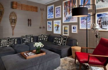 30-ideas-for-decorating-wall-with-posters-a-vintage-atmosphere-in-modern-interior-design-21-434
