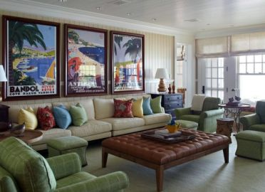 30-ideas-for-decorating-wall-with-posters-a-vintage-atmosphere-in-modern-interior-design-30-434