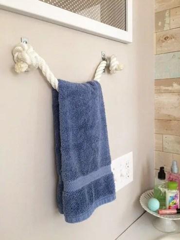 Diy-rope-towel-holder