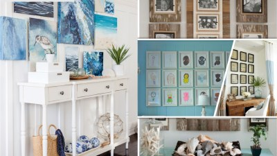 Make your own wall gallery with diy projects2