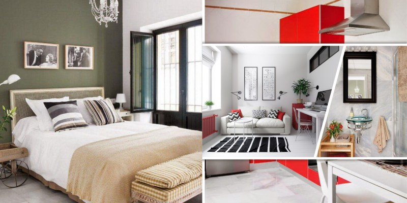 Small apartment interior design with interesting game of colors2