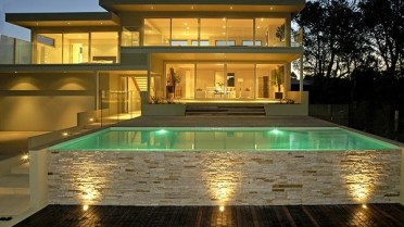 Above-ground-pools-with-decks-modern-patio-landscape-ideas-outdoor-lighting