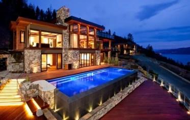 Above-ground-pools-with-decks-modern-pool-design-ideas-wooden-deck-pool-lighting-ideas