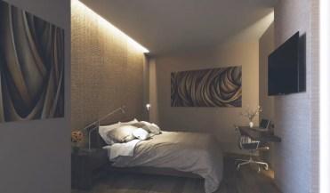 Bedroom-lighting-on-textured-walls