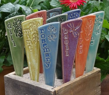 Ceramic-garden-stakes