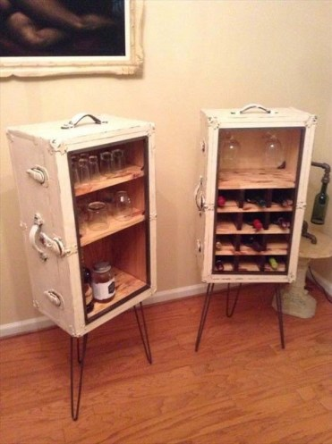 Unique-recycling-ideas-old-suitcase-cupboards
