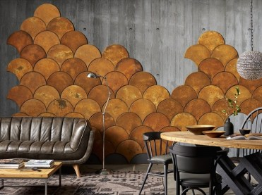 1-12-fish-scale-ocher-colored-cork-wall-tiles-can-be-used-for-creating-your-wall-art