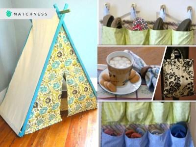 10 brilliant ideas to repurpose your old curtain2