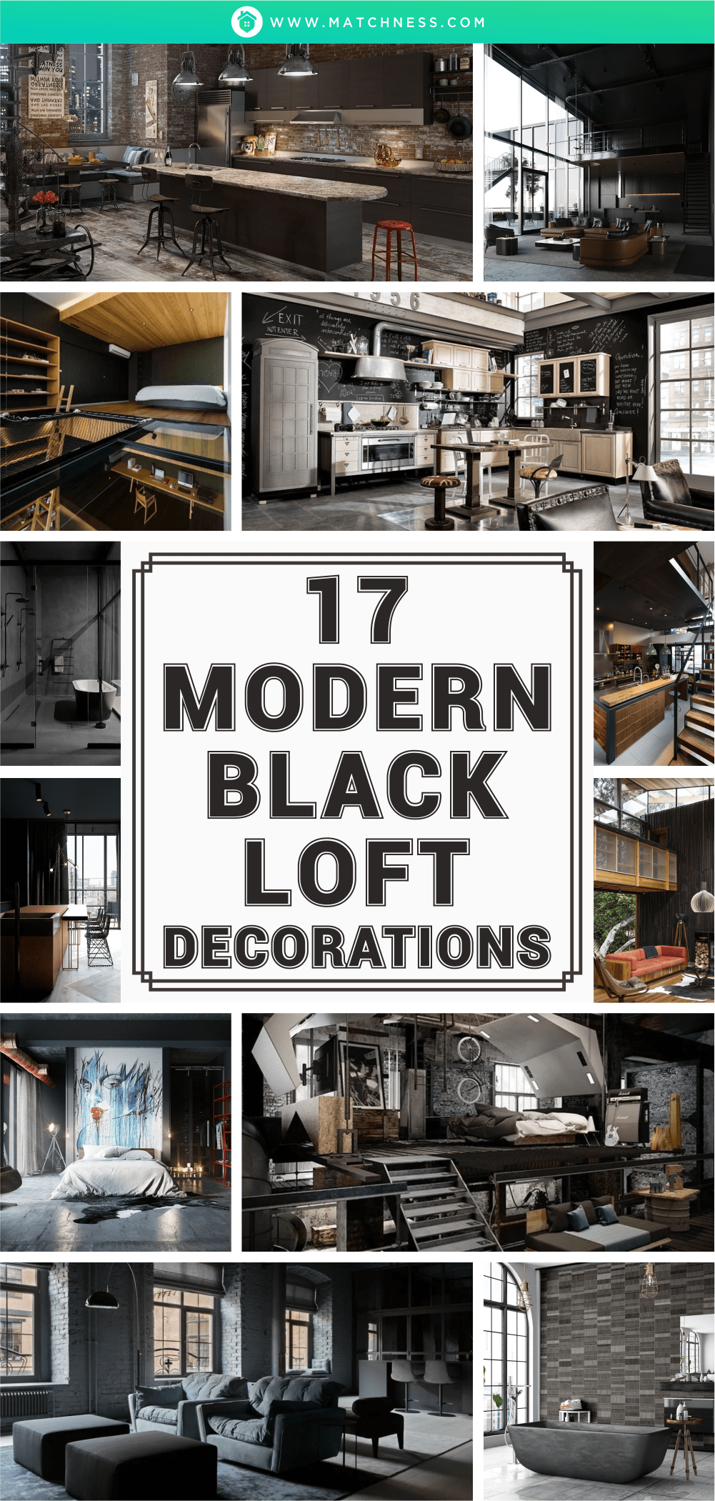 17-moderno-nero-decorazioni-loft1