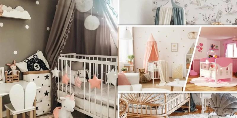 20 simple yet calming nursery room decorations2