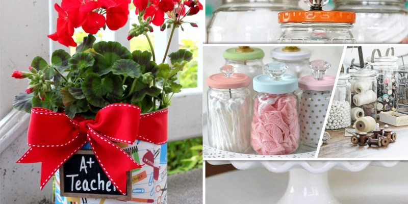 40 ideas to use canister for your living needs2