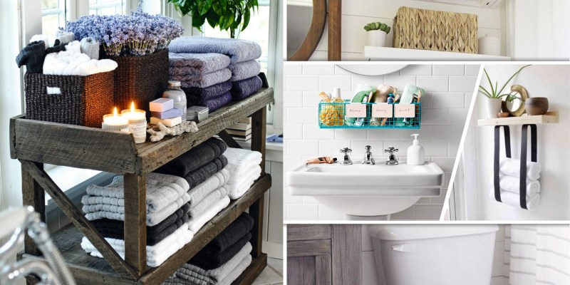 55 references for your effective bathroom organizer2