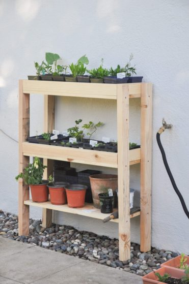 Outdoor-plant-shelf