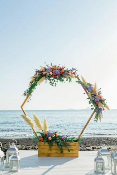 Beach-floral-circle-wreath