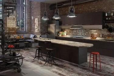 Best-loft-cucina-idee-design-idee-decorazioni-in-stile-industriale-illuminazione-muro-mattoni