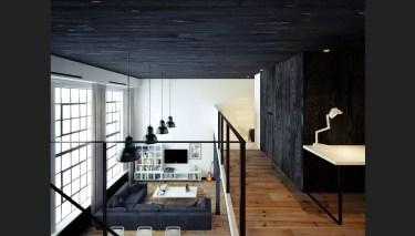 Black-white-loft-living