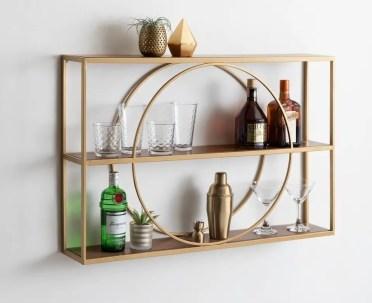 Circle-wall-shelf