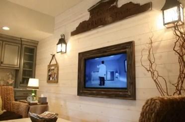 Diy-barn-wood-tv-frame-shiplap-accent-wall-living-room-design-ideas