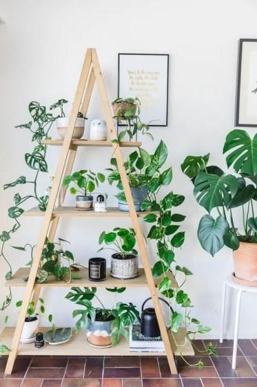 Indoor-a-frame-plant-shelf-decor