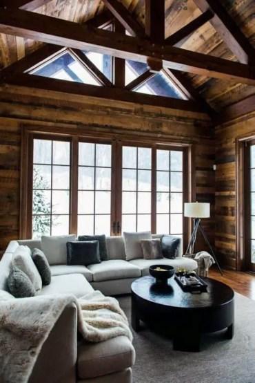 Interior-log-cabin-designs