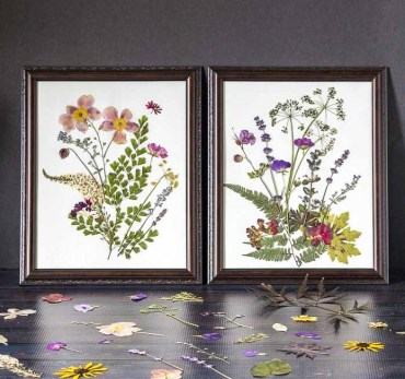 Pressed-flower-wall-art-feature