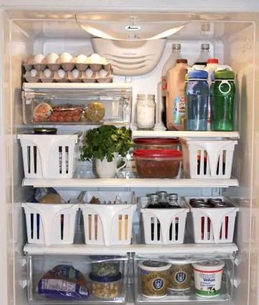 Refrigerator-sliding-bins