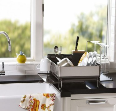 Simple-dshrack-for-kitchen-organizer