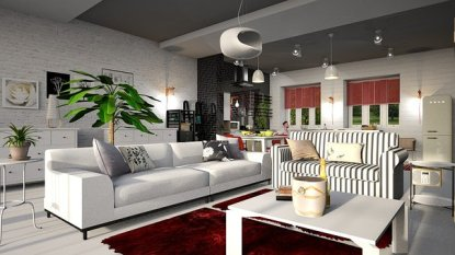 1-artificial-flowers-decoration-in-living-room