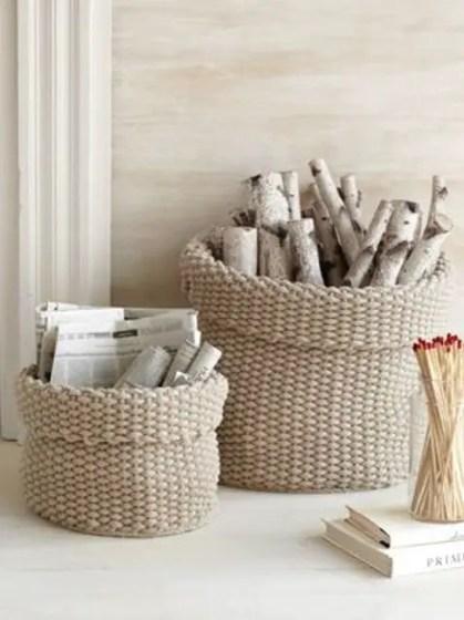 14-knit-cotton-baskets-for-firewood-storage