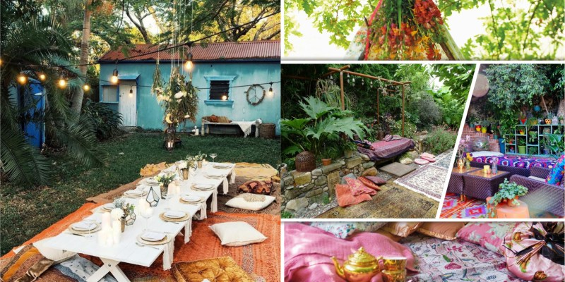 15 impressive bohemian garden designs2