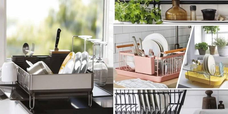 15 proper drain kitchen rack ideas2