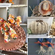 25 cheap dollar store fall decoration inspirations2
